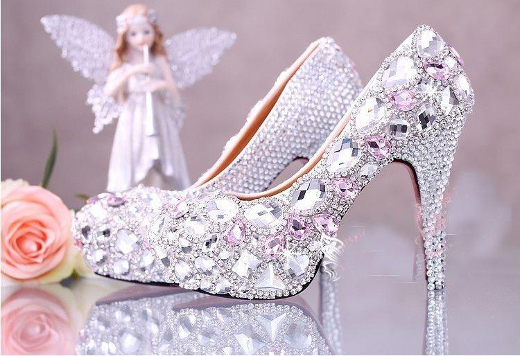أحذية عروس 2015 تشكيلة مميزة وأنيقة