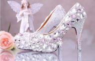 احذية عروس 2017 تشكيلة مميزة وأنيقة