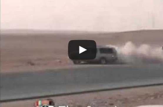 بالفيديو نهاية استعراض مهارات التفحيط المأساوية