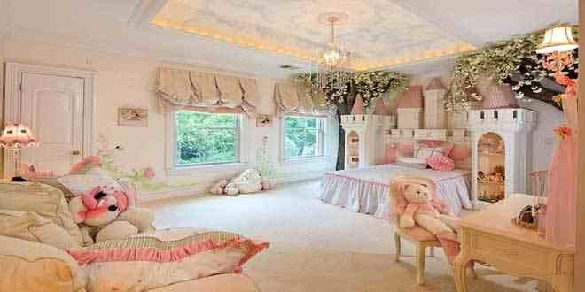 غرف أطفال فخمة يقدر سعرها بأكثر من 200 ألف دولار