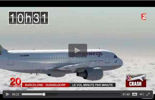 هكذا سقطت الطائرة الألمانية