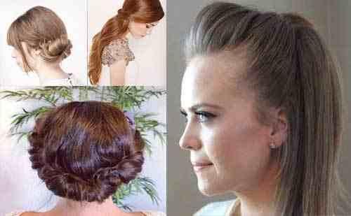تسريحات شعر مميزة و بسيطة مع الخطوات