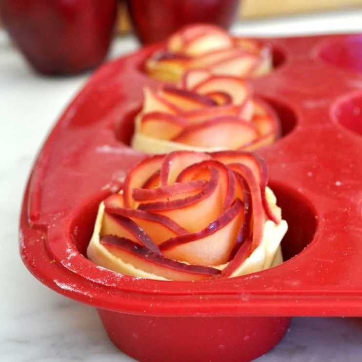 وردة التفاح