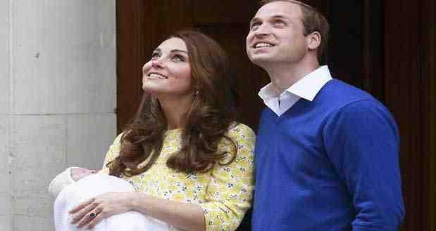 صور ابنة الدوقة كيت ميدلتون في ظهورها الأول بعد ولادتها