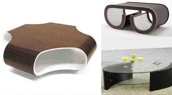 تصاميم طاولات غرف الجلوس مزيد من التميز و الفخامة