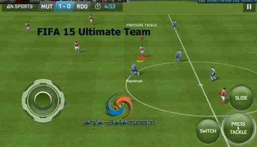تطبيق لعبة فيفا 15 رائعة لأجهزة الاندرويد FIFA 15 Ultimate