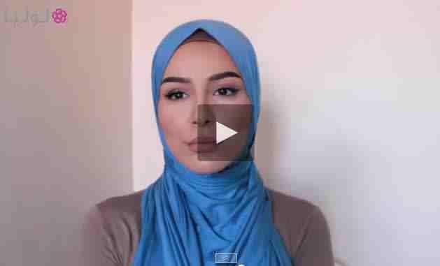 اجمل اربع لفات حجاب تجدد اطلالتك في رمضان .. بالفيديو
