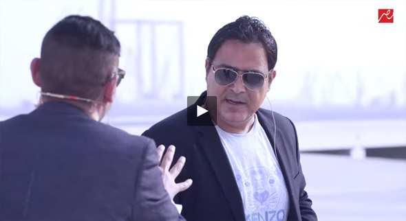 شاهد رامز واكل الجو مع عاصي الحلاني الحلقة 15 سب وشتم وضرب