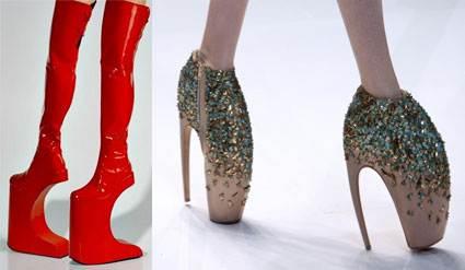 احذية غريبة جداً لم تشاهدوها من قبل من احلى عالم