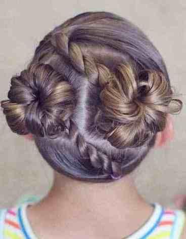 ضفيرة شعر للبنات