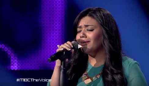 شاهد الحلقة الأولى من the voice الموسم الثالث دنيا هاني