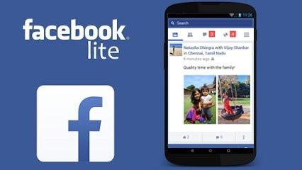 تطبيق فيسبوك لايف الاسرع والاخف لأجهزة الاندرويد Facebook Lite
