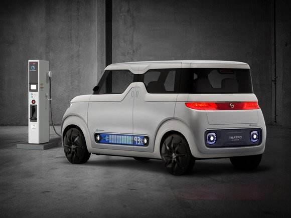 سيارة نيسان الرقمية الجديدة افضل سيارات المستقبل المتطورة