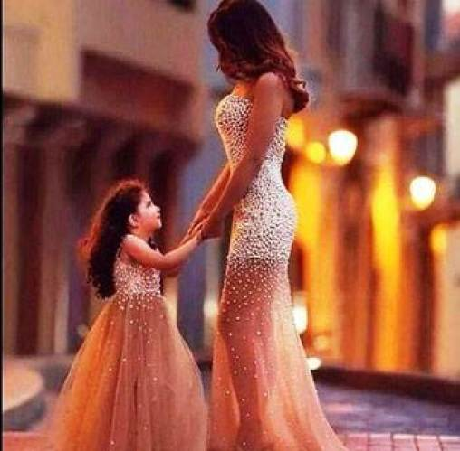 ستايلات ثنائية ساحرة للأمهات و البنات
