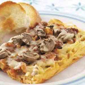 بيتزا المعكرونة طبق مميز و لذيذ من مطبخ احلى عالم