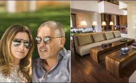 جولة في منزل ايلي صعب المصمم اللبناني العالمي ... بالصور