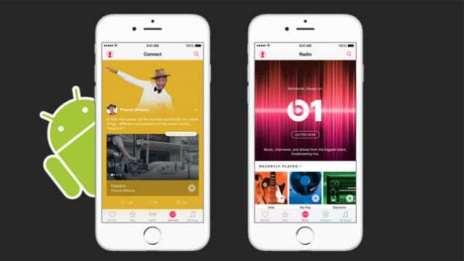 تطبيق أبل ميوزيك مشغل الموسيقا من أبل على الاندرويد