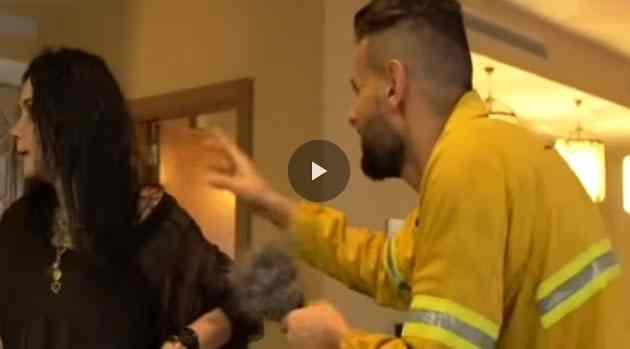 رامز يلعب بالنار الحلقة 2 مع غادة عادل ويغمى عليها
