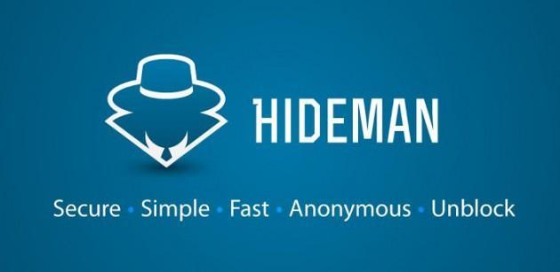تطبيق بروكسي Hideman VPN شبكات إفتراضية خصوصية للاندرويد