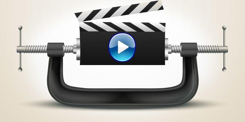 كيفية تقليص حجم الفيديو مع الحفاظ على جودته وبدون برامج ؟