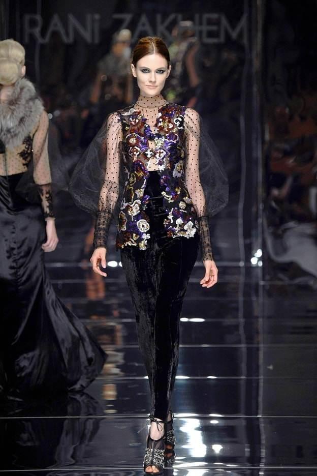 أزياء راني زاخم لشتاء 2017