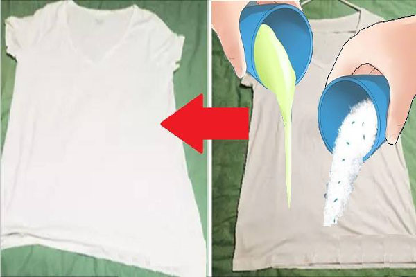 طريقة تبييض الغسيل الأبيض وجعله ناصعاً أكثر