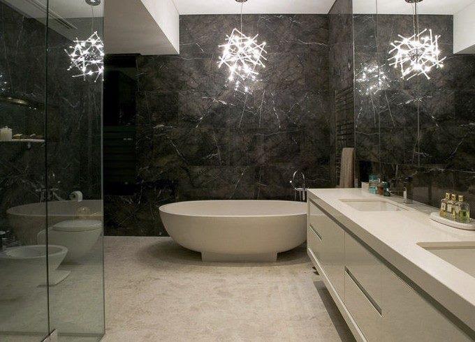 حمامات خاصة للمساحات الصغيرة