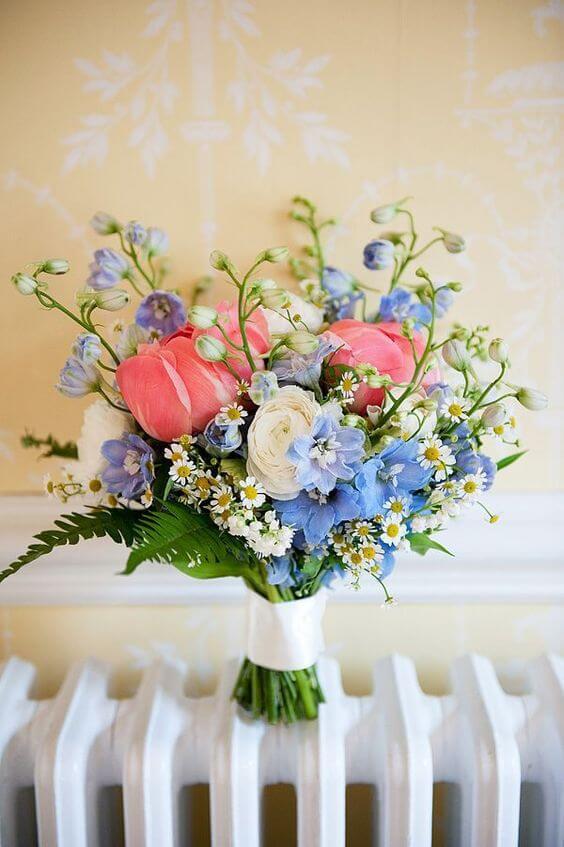 احدث باقات الورد للعروس