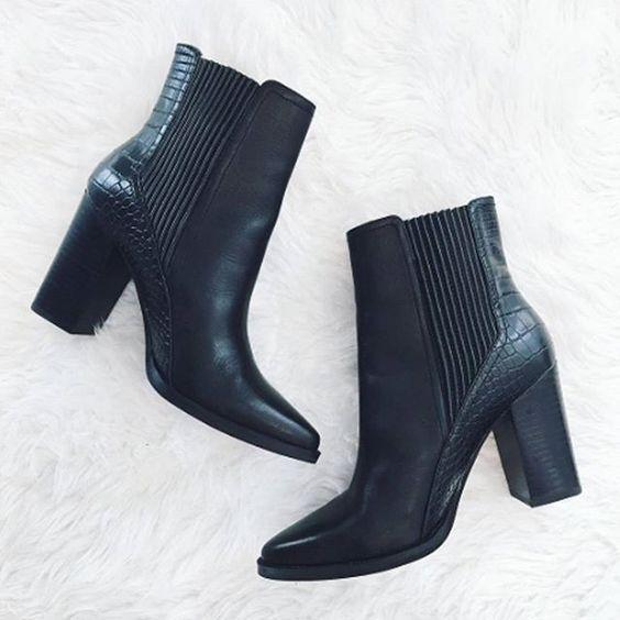 احذية شتوية 2018