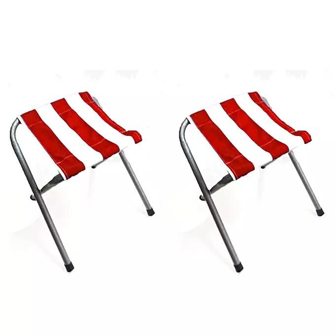 promotion lot de 2 mini chaise de plage pliantes tunisie