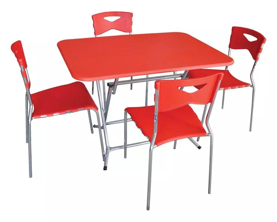 table pliante pvc rectangulaire dim 120 80