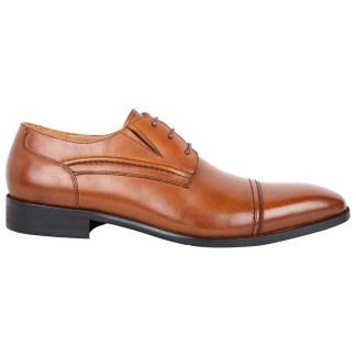 tga sko i cognacfarvet kalveskind