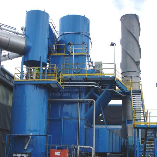 A.H. Lundberg -Wet Electrostatic Precipitator Installation