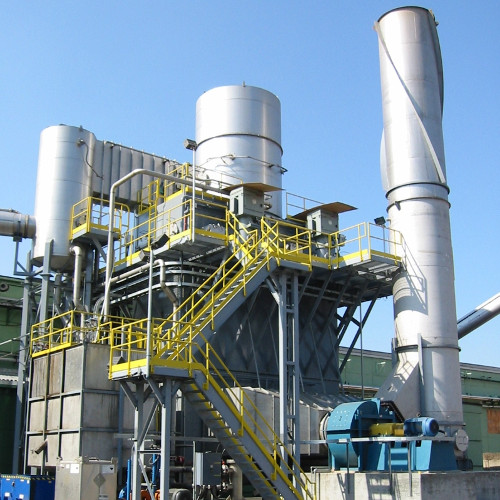 A.H. Lundberg -Wet Electrostatic Precipitator Installation