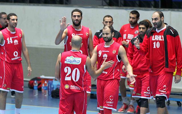 النادي الأهلي بطل كأس مصر في كرة السلة للرجال