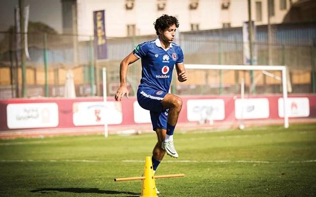 محمد هاني يلحق بفريق الكرة مساء اليوم بالإسكندرية