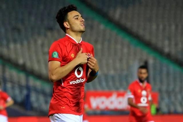 قائمة النادي الأهلي من اجل مباراة العودة امام المقاولون العرب