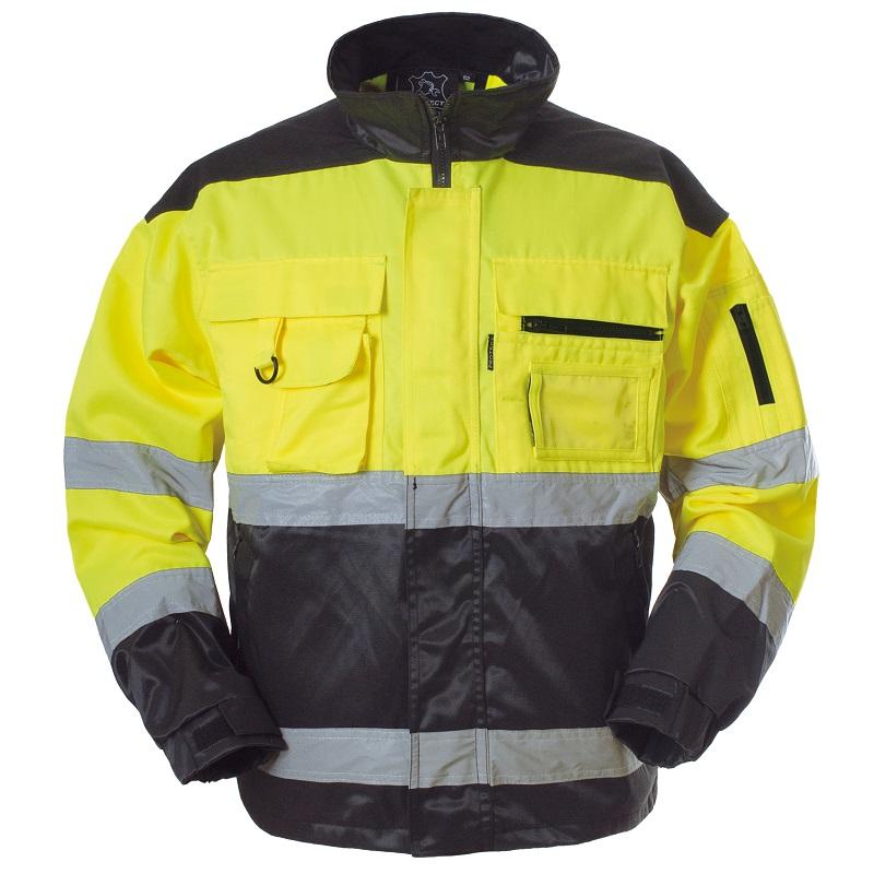 Protect huomiovärinen takki