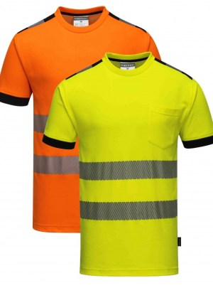 T181 Hi-Vis Vision huomio T-paita