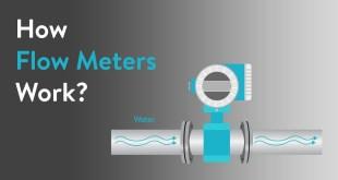 كيف تعمل اجهزة قياس التدفق Flow Meters