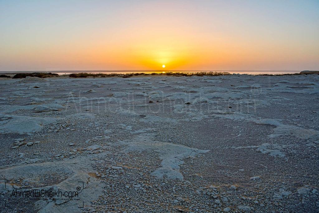 Magical Sun set in Wadi ElRayan