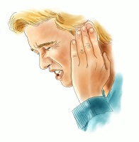 Pain or pressure in the ear