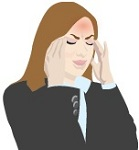 Headaches, pain, or pressure in the sinuses