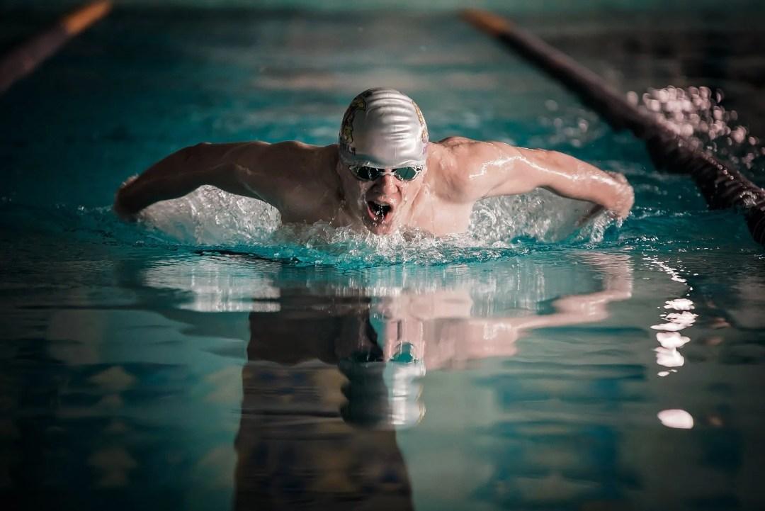 award winning photography swimmer's senior session