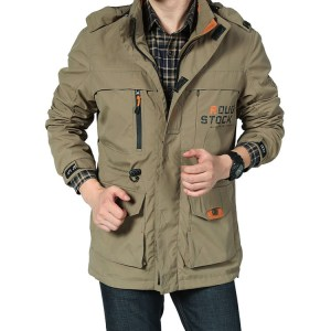 autumn men's casual jacket, outdoor military jacket, quick-drying mountaineering clothing, thin factory direct sales