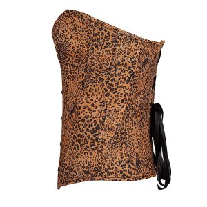 AliExpress Taobao sexy lingerie supply sexy popular leopard palace corset body shaper wholesale