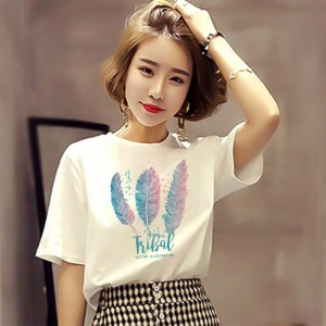 white shirt women's short-sleeved new summer loose half-sleeved net red clothes street beat top