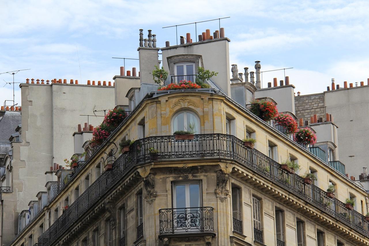 Paris Roof Top 01