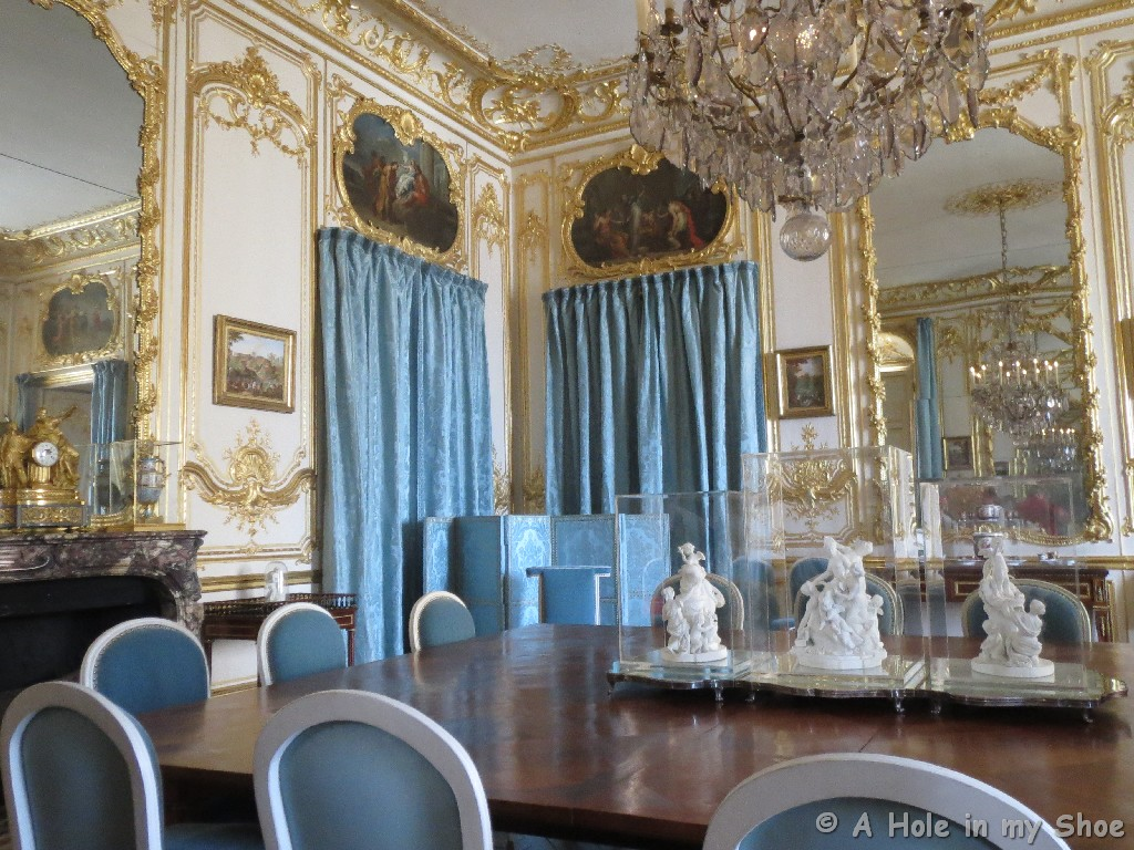 The Porcelain Dining Room Is Where Forty Guests Of Marie Antoinette Would  Have Their Society Supper And Louis XV Had His Supper After A Hunt.  Versailles ...