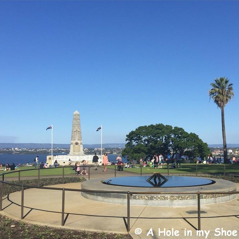 King's Park War Memorial,Perth